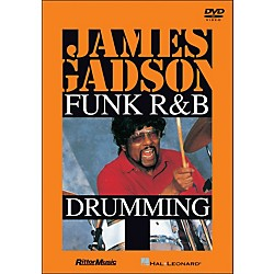 Hal Leonard James Gadson - Funk/R&B Drumming DVD (320948)