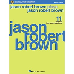 Hal Leonard Jason Robert Brown Plays Jason Robert Brown - Women's Edition Book/CD (230089)