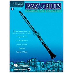 Hal Leonard Jazz & Blues Playalong Solos for Clarinet (Book/CD) (841439)