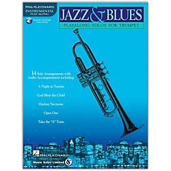 Hal Leonard Jazz & Blues Playalong Solos for Trumpet (Book/CD) (841441)