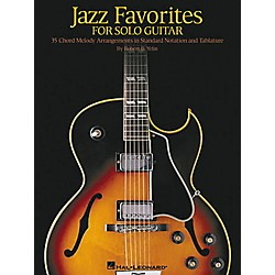Hal Leonard Jazz Favorites for Solo Guitar Tab Book with Notation (699278)