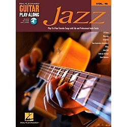 Hal Leonard Jazz Guitar Play-Along Series Book with CD (699584)