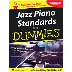 Hal Leonard Jazz Piano Standards For Dummies arranged for piano, vocal, and guitar (P/V/G) (311868)