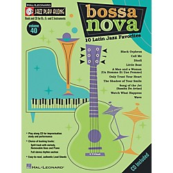 Hal Leonard Jazz Play Along Series, Volume 40: Bossa Nova - 10 Latin Jazz Favorites (Book/CD) (843036)
