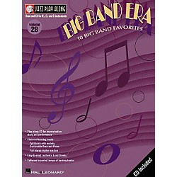 Hal Leonard Jazz Play-Along Series Big Band Era Book with CD (843021)