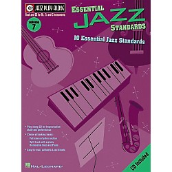 Hal Leonard Jazz Play-Along Series Essential Jazz Standards Book with CD (843000)