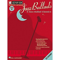Hal Leonard Jazz Play-Along Series Jazz Ballads Book with CD (841691)