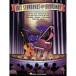 Hal Leonard Jazz Standards from Broadway Piano/Vocal/Guitar Songbook (310427)