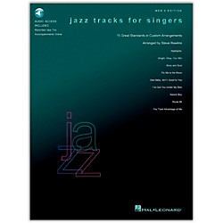 Hal Leonard Jazz Tracks For Singers - Men's Edition Book/CD (740243)