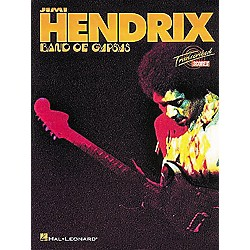 Hal Leonard Jimi Hendrix - Band of Gypsys Complete Scores Book (672313)