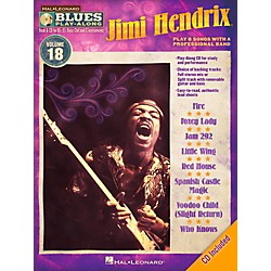 Hal Leonard Jimi Hendrix - Blues Play-Along Volume 18 Book/CD (843218)