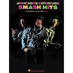 Hal Leonard Jimi Hendrix - Smash Hits Easy Guitar Series Tab Songbook (702227)