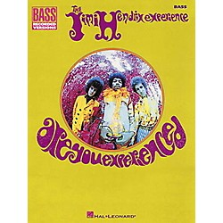 Hal Leonard Jimi Hendrix Are You Experienced Bass Guitar Tab Songbook (690371)