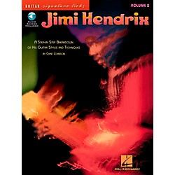 Hal Leonard Jimi Hendrix Volume 2: A Step by Step Breakdown of His Guitar Styles and Techniques (Book/CD) (695835)