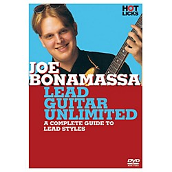 Hal Leonard Joe Bonamassa - Lead Guitar Unlimited DVD Hot Licks (14017110)