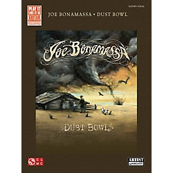 Hal Leonard Joe Bonamassa Dust Bowl Guitar Tab Songbook (2501720)