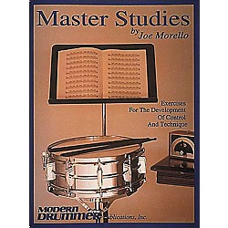 Hal Leonard Joe Morello - Master Studies Book (6631474)