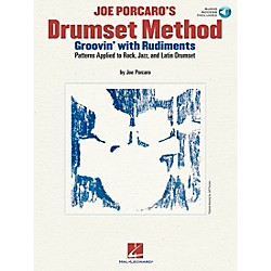 Hal Leonard Joe Porcaro's Drumset Method - Groovin' With The Rudiments (Book/CD) (6620129)