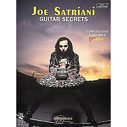 Hal Leonard Joe Satriani Guitar Secrets Book (2506305)