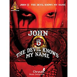 Hal Leonard John 5 - The Devil Knows My Name Guitar Tab Songbook (690898)