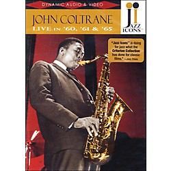 Hal Leonard John Coltrane - Live In '60, '61 And '65 - Jazz Icons DVD (320696)