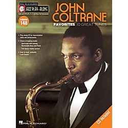 Hal Leonard John Coltrane Favorites - Jazz Play-Along Volume 148 Book/CD (843233)