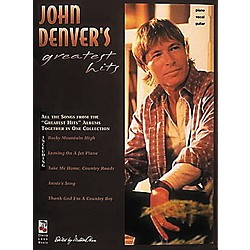 Hal Leonard John Denver's Greatest Hits Piano, Vocal, Guitar Songbook (2502166)