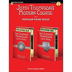 Hal Leonard John Thompson's Modern Course plus Popular Piano Solos Book/CD (416865)