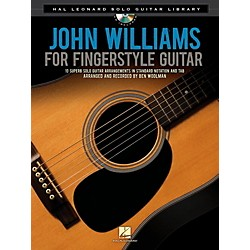 Hal Leonard John Williams For Solo Fingerstyle Guitar - Hal Leonard Solo Guitar Library Book/CD (116026)