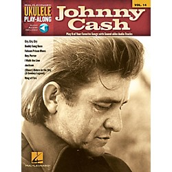 Hal Leonard Johnny Cash Ukulele Play-Along Volume 14 Book/CD (702615)