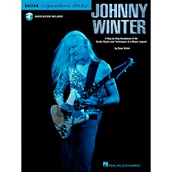 Hal Leonard Johnny Winter: A Step-By-Step Breakdown of his Guitar Styles and Techniques (Book/CD) (695951)