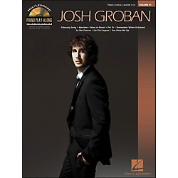 Hal Leonard Josh Groban - Piano Play-Along Volume 81 (CD/Pkg) arranged for piano, vocal, and guitar (P/V/G) (311901)
