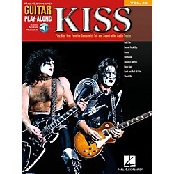 Hal Leonard KISS Guitar Play-Along Series Book with CD (699644)