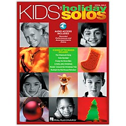 Hal Leonard Kids' Holiday Solos Book/CD (740206)