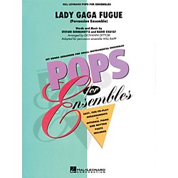 Hal Leonard Lady Gaga Fugue (Based On Bad Romance) Percussion Ensemble - Pops For Ensembles Series (4157728)