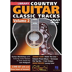 Hal Leonard Learn Country Guitar Classic Tracks Volume 2 (DVD) (393391)