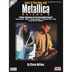 Hal Leonard Learn To Play Bass with Metallica Volume 2 Book with CD (2500886)