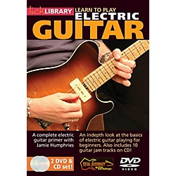 Hal Leonard Learn To Play Electric Guitar - Lick Library Series (DVD) (393003)