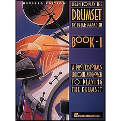 Hal Leonard Learn To Play The Drum Set Book 1 By Peter Magadini (6620000)