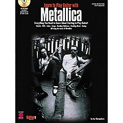 Hal Leonard Learn to Play Guitar with Metallica Book/CD (2500138)