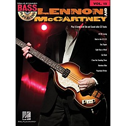 Hal Leonard Lennon & McCartney - Bass Play-Along Volume 13 (699816)