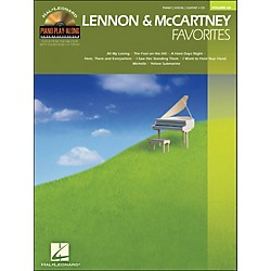 Hal Leonard Lennon & McCartney Favorites - Piano Play-Along Volume 68 (CD/Pkg) arranged for piano, vocal, and gu (311804)