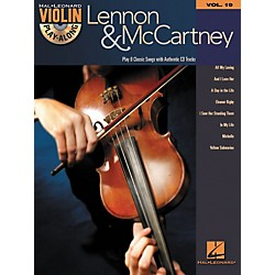 Hal Leonard Lennon & McCartney Violin Play-Along Volume 19 (Book/CD) (842564)