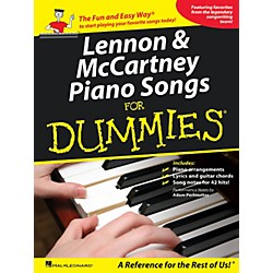 Hal Leonard Lennon & Mccartney Piano Songs For Dummies (312029)
