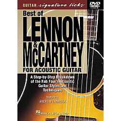 Hal Leonard Lennon and McCartney for Acoustic Guitar DVD (320333)