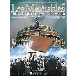 Hal Leonard Les Miserables in Concert Vocal Selections Book (313212)