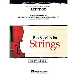 Hal Leonard Let It Go (From Frozen) Easy Pop Specials For Strings (4491410)