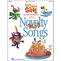 Hal Leonard Let's All Sing...Novelty Songs (9970619)