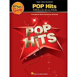 Hal Leonard Let's All Sing Pop Hits - Collection for Young Voices Piano Vocal Collection (112992)