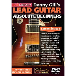 Hal Leonard Lick Library Lead Guitar For Absolute Beginners DVD (393210)